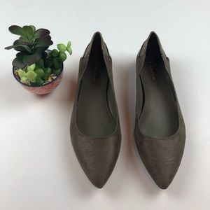 Calvin Klein | Bexsy Pointed Toe Ballet Flats NEW